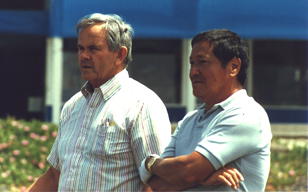 Warren Seaman and Rudy Choy - 1985